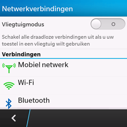 BlackBerry Q10 - bluetooth - aanzetten - stap 5