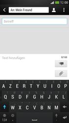 HTC One Mini - MMS - Erstellen und senden - Schritt 11