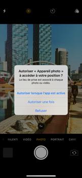 Apple iPhone 11 - Photos, vidéos, musique - Prendre une photo - Étape 3