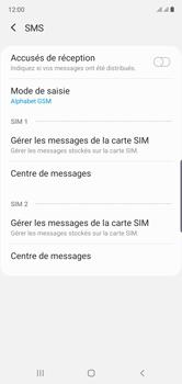 Samsung Galaxy Note10 - SMS - Configuration manuelle - Étape 8