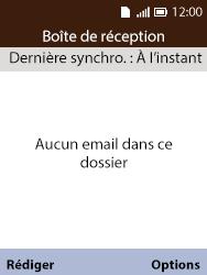 Alcatel 3088X - E-mails - Ajouter ou modifier votre compte Outlook - Étape 5