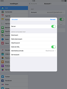 Apple ipad-4-met-ios-10-model-a1460 - E-mail - Instellingen KPNMail controleren - Stap 20