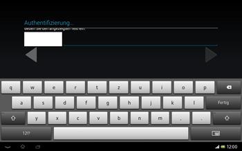 Sony Xperia Tablet Z LTE - Apps - Konto anlegen und einrichten - Schritt 20