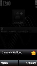 Nokia 5800 Xpress Music - MMS - Automatische Konfiguration - Schritt 4