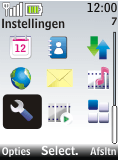 Nokia 2720 fold - internet - handmatig instellen - stap 3
