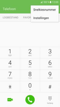 Samsung Galaxy J7 (2016) (J710) - voicemail - handmatig instellen - stap 5