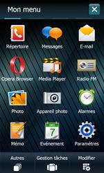 Samsung B7610 Omnia Qwerty - Wifi - configuration manuelle - Étape 2