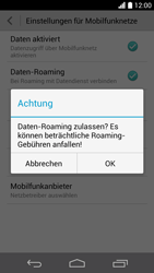 Huawei Ascend P6 LTE - Ausland - Im Ausland surfen – Datenroaming - 1 / 1