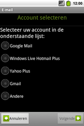Alcatel OT-991 Smart - E-mail - Handmatig instellen - Stap 7