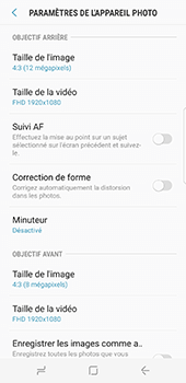 Samsung Galaxy S8 - Photos, vidéos, musique - Prendre une photo - Étape 11