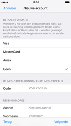 Apple iPhone 6s iOS 10 - Applicaties - Account aanmaken - Stap 20