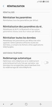 Samsung Galaxy Note 8 - Aller plus loin - Restaurer les paramètres d'usines - Étape 6