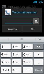 Huawei Ascend Y300 - voicemail - handmatig instellen - stap 8