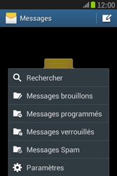 Samsung S6310 Galaxy Young - SMS - Configuration manuelle - Étape 5