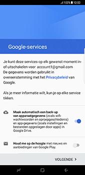 Samsung Galaxy S8 Plus - Applicaties - Account instellen - Stap 17