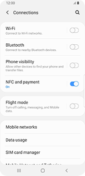 Samsung Galaxy S9 - Android Pie - Internet and data roaming - How to check if data-connectivity is enabled - Step 5