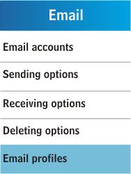 Samsung C3300K - E-mail - Manual configuration - Step 6