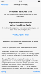 Apple iPhone 6 (iOS 9) - apps - account instellen - stap 10