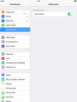 Apple iPad mini retina - Netzwerk - Manuelle Netzwerkwahl - Schritt 6