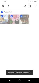 Alcatel 1S (2020) - Photos, vidéos, musique - Envoyer une photo via Bluetooth - Étape 13