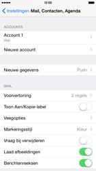 Apple iPhone 6 iOS 8 - E-mail - Account instellen (POP3 met SMTP-verificatie) - Stap 26