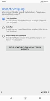 Sony Xperia XZ3 - E-Mail - Konto einrichten (outlook) - Schritt 15