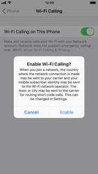 Apple iPhone 8 - iOS 12 - WiFi - Enable WiFi Calling - Step 7