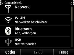 Nokia E6-00 - wifi - handmatig instellen - stap 14