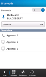 BlackBerry Z10 - bluetooth - aanzetten - stap 9