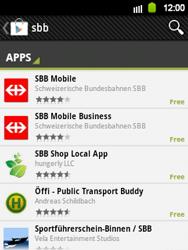 Samsung Galaxy Y - Applications - Installing applications - Step 18