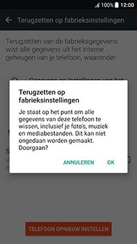 HTC U11 - Resetten - Fabrieksinstellingen terugzetten - Stap 7