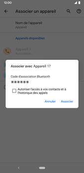 Google Pixel 3a - Internet et connexion - Connexion avec un équipement multimédia via Bluetooth - Étape 8