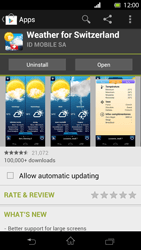 Sony Xperia T - Applications - Installing applications - Step 15