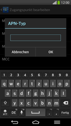 LG D955 G Flex - Internet und Datenroaming - Manuelle Konfiguration - Schritt 14