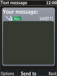 Nokia C2-05 - MMS - Sending pictures - Step 4