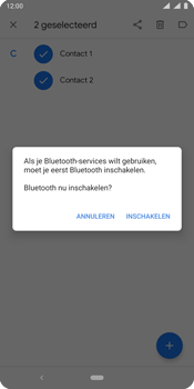 Nokia 9 - Contactgegevens overzetten - delen via Bluetooth - Stap 10