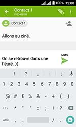 Alcatel U3 - Contact, Appels, SMS/MMS - Envoyer un MMS - Étape 13