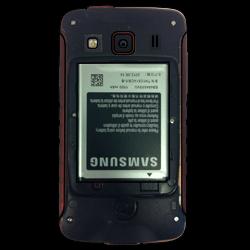 Samsung S5690 Galaxy Xcover - SIM-Karte - Einlegen - Schritt 4