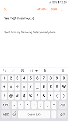 Samsung A320F Galaxy A3 (2017) - Android Nougat - E-mail - Sending emails - Step 11