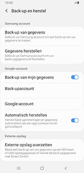 Samsung Galaxy S9 Plus - Android Pie - Data - maak een back-up met je account - Stap 7