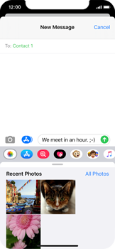 Apple iPhone 11 Pro - MMS - Sending a picture message - Step 10