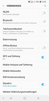 Samsung Galaxy A8 Plus (2018) - Ausland - Im Ausland surfen – Datenroaming - 7 / 11