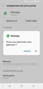 Samsung Galaxy A8 - Applications - Supprimer une application - Étape 7