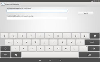 Sony Xperia Tablet Z2 LTE - E-mail - configurazione manuale - Fase 17