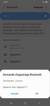 Samsung Galaxy A10 - Internet et connexion - Connexion avec un équipement multimédia via Bluetooth - Étape 9