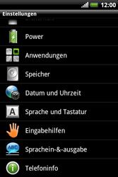 HTC Explorer - Fehlerbehebung - Handy zurücksetzen - 6 / 10