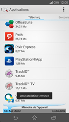 Sony Xperia Z3 - Applications - Comment désinstaller une application - Étape 8