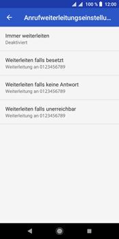 Sony Xperia L3 - Anrufe - Rufumleitungen setzen und löschen - Schritt 9