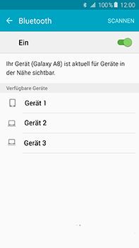 Samsung Galaxy A8 - Bluetooth - Verbinden von Geräten - Schritt 6