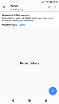 Sony Xperia XZ2 Premium - E-Mail - Konto einrichten (yahoo) - Schritt 5